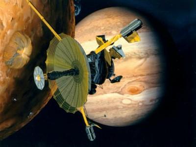 Artist's impression: Galileo probe