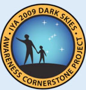 IYA 2009 Dark Skies badge