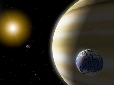 Exoplanets (Artist's Impression)
