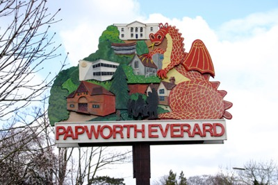 Papworth Everard village sign