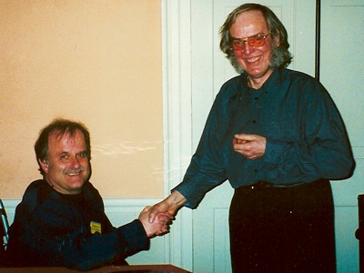 Colin Pillinger and Gordon Carter