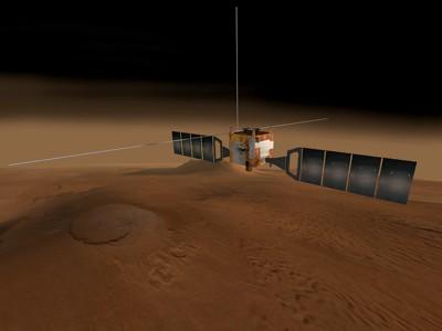 artist's impression: Mars Express